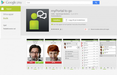 google play myportaltogo